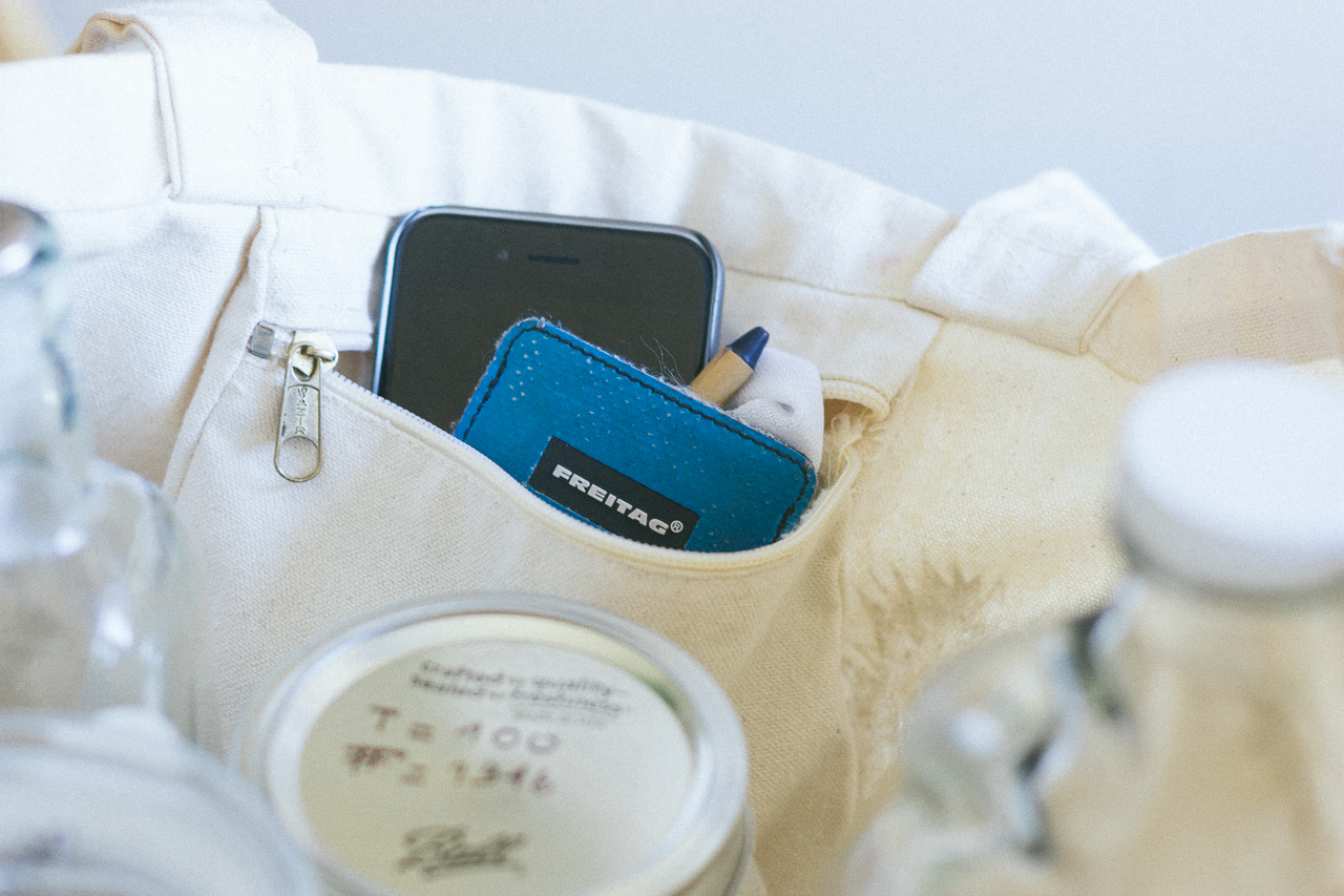 The ultimate Zero Waste shopping kit with Mason jars by Conscious by Chloé