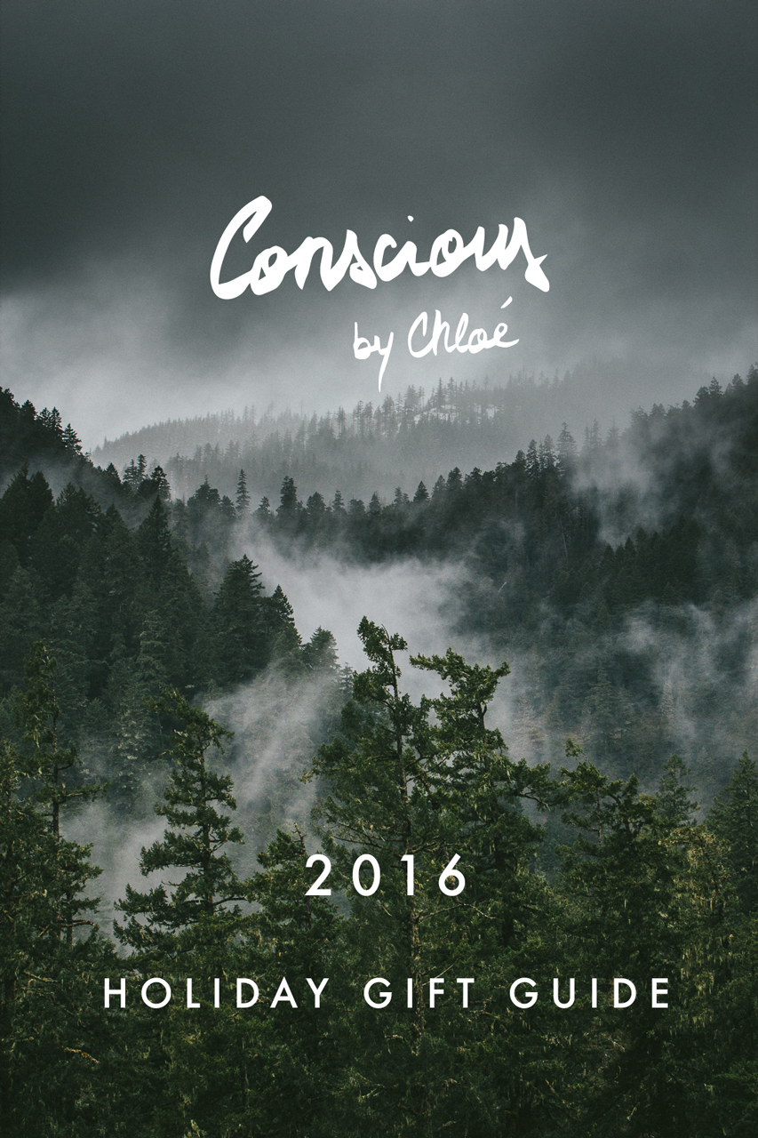 Holiday Gift Guide 2016 PNW Misty Forest by Conscious by Chloé