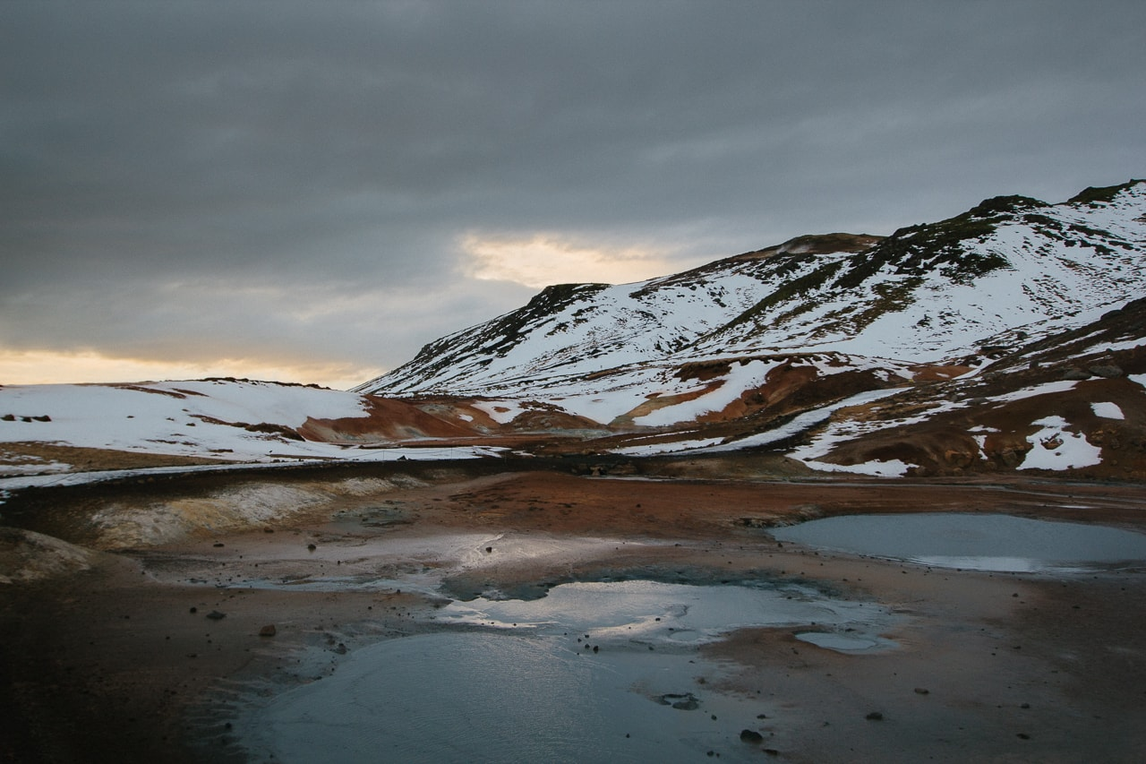 Iceland winter road trip - Krýsuvík Geothermal Area - by Conscious by Chloé