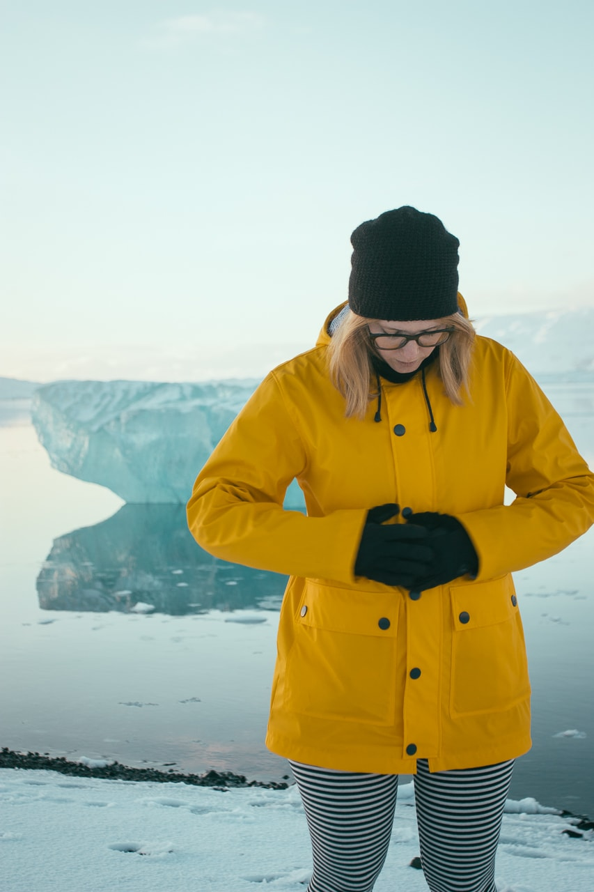 Iceland winter road trip - Jökulsárlón - by Conscious by Chloé