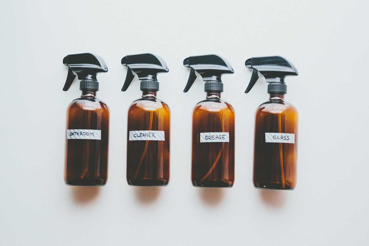 Natural Cleaning Sprays by Conscious by Chloé