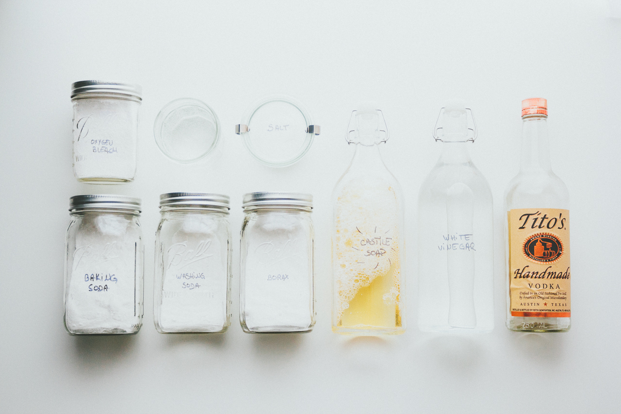 Natural Cleaning Supplies by Conscious by Chloé