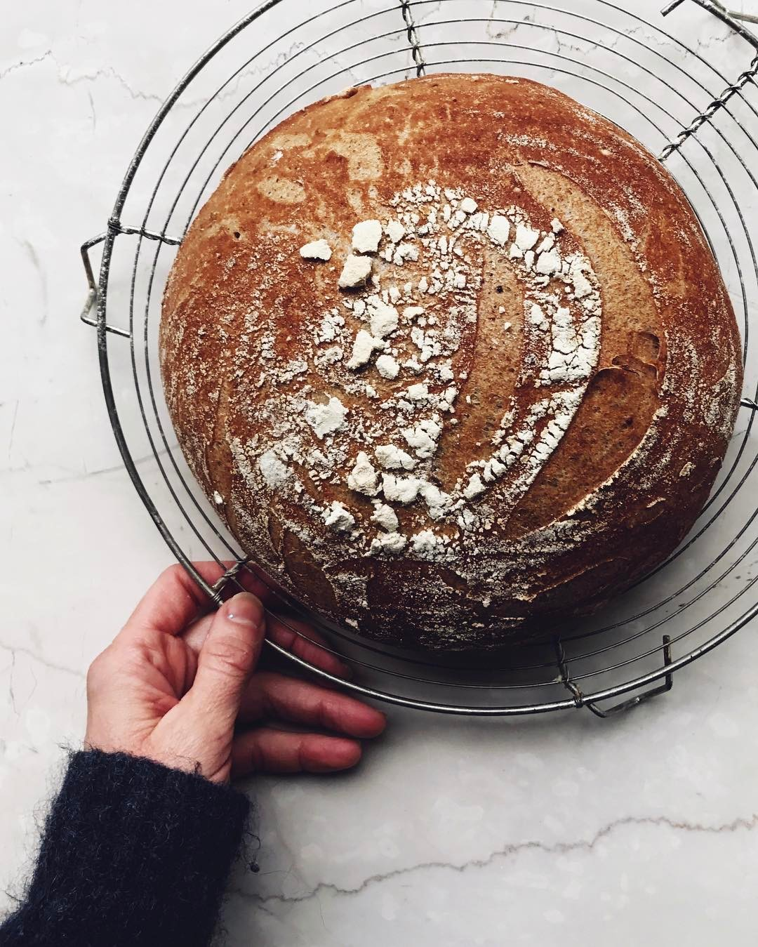 Sourdough Boule by Aran Goyoaga for Conscious by Chloé