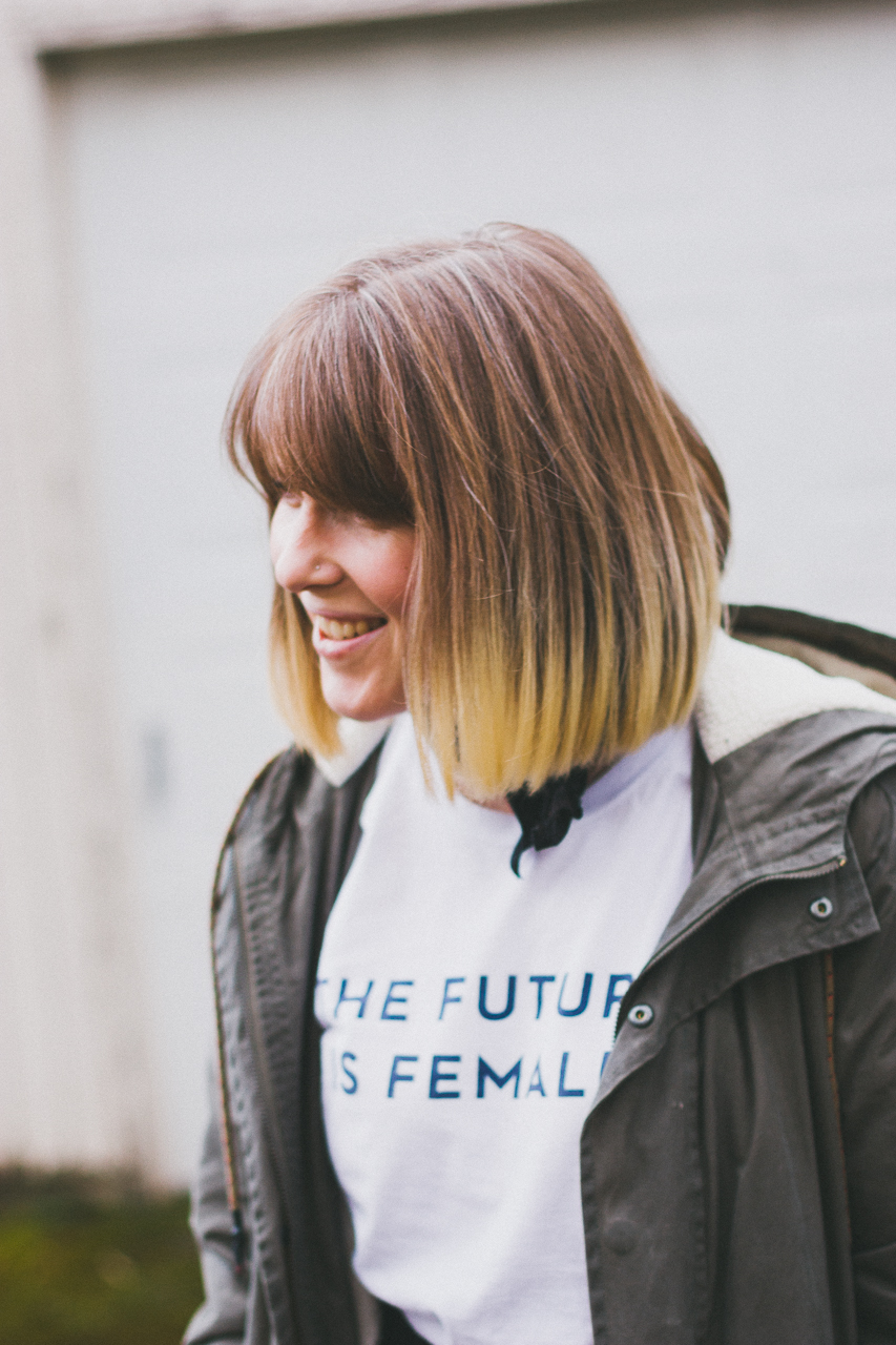 The Future is Female Look by Conscious by Chloé