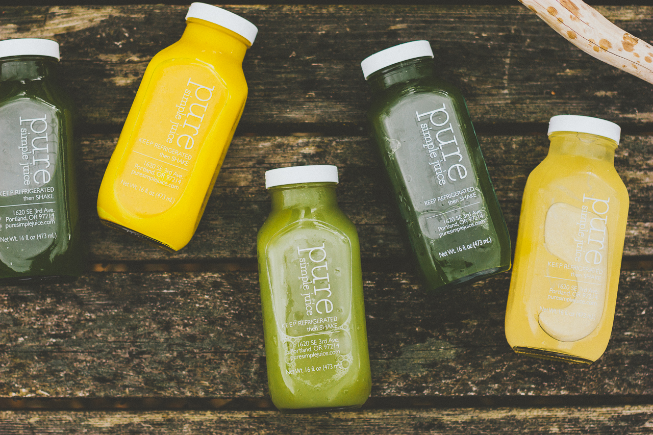 Juice Cleansing with Pure Simple Juice by Conscious by Chloé