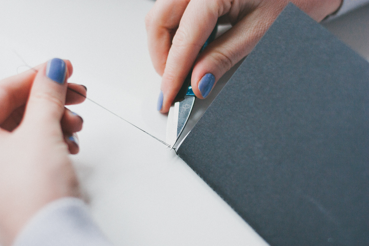 Junk Mail Notebook DIY by Conscious by Chloé