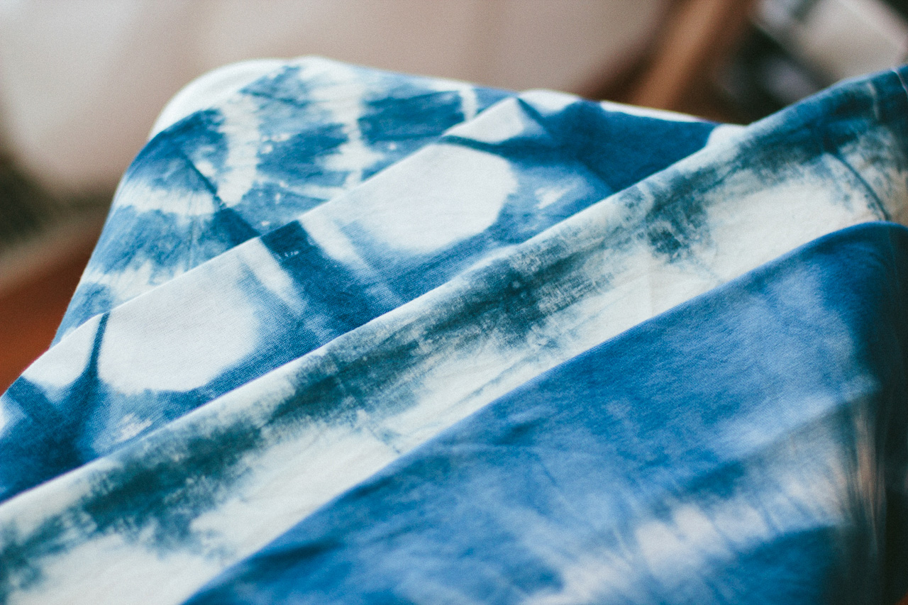Shibori patterns by Conscious by Chloé
