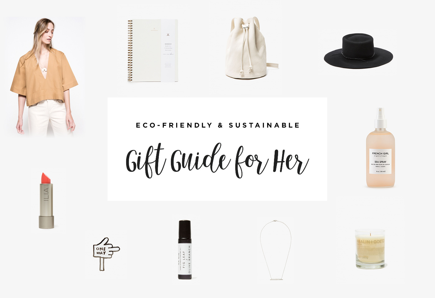 2016 Holiday Gift Guide For Her by Conscious by Chloé