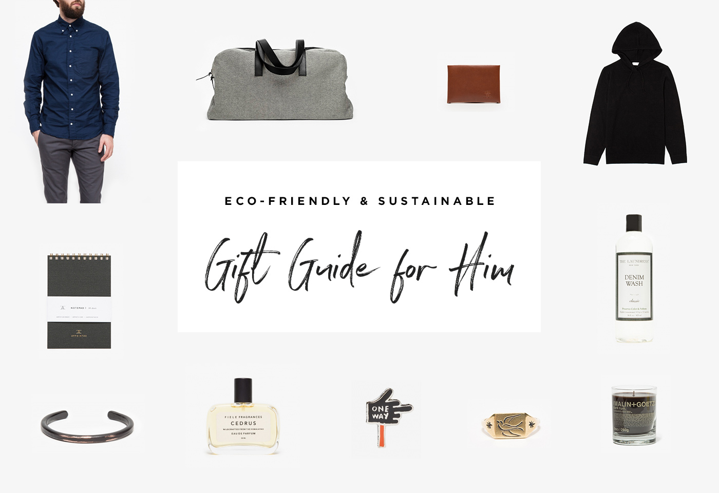 2016 Holiday Gift Guide For Him by Conscious by Chloé