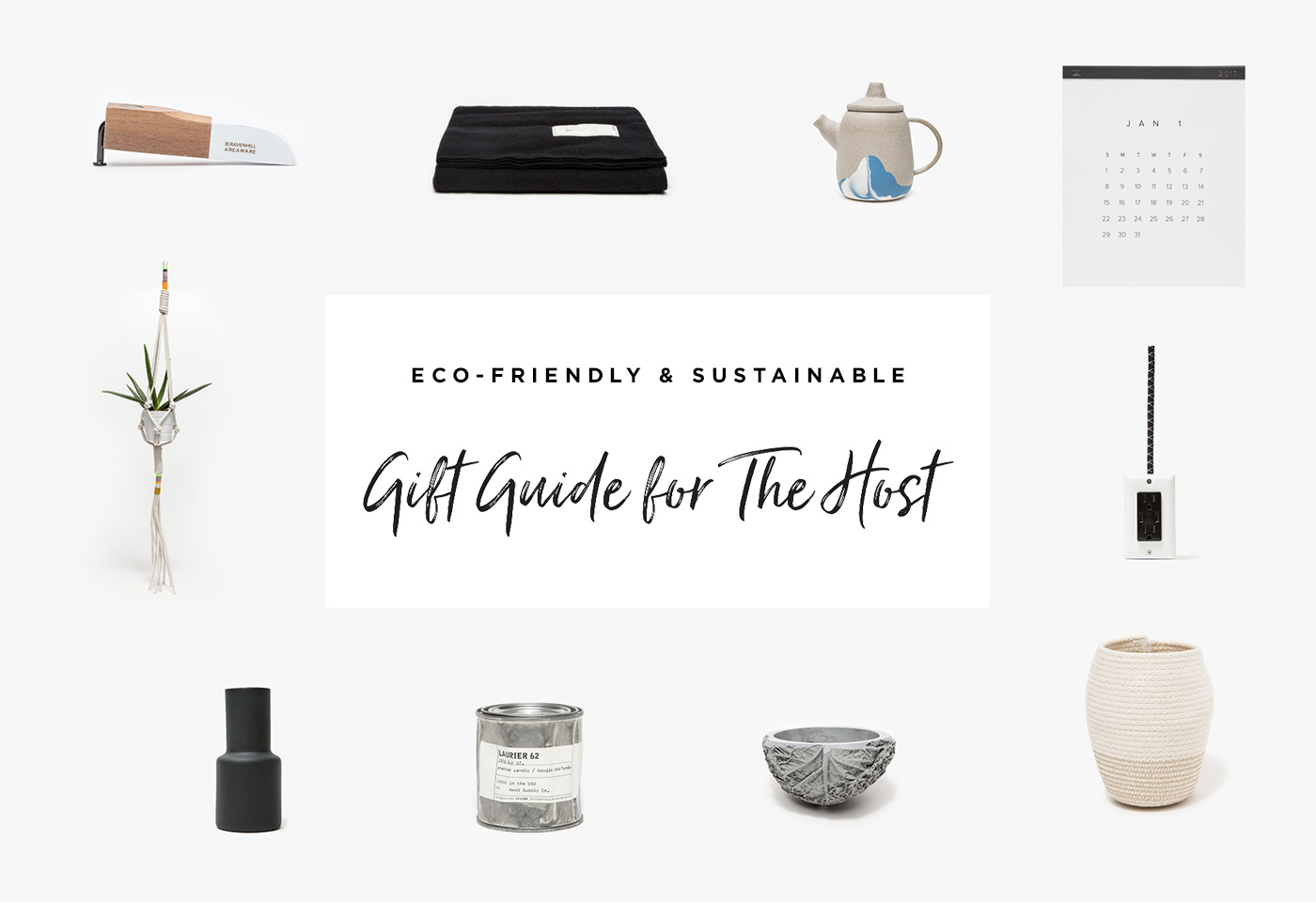 2016 Holiday Gift Guide For The Host by Conscious by Chloé
