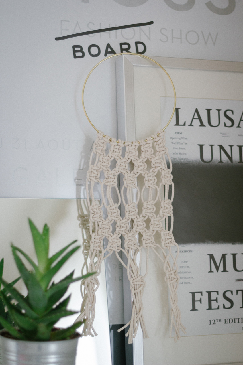 Macrame wall hanging by Conscious by Chloé