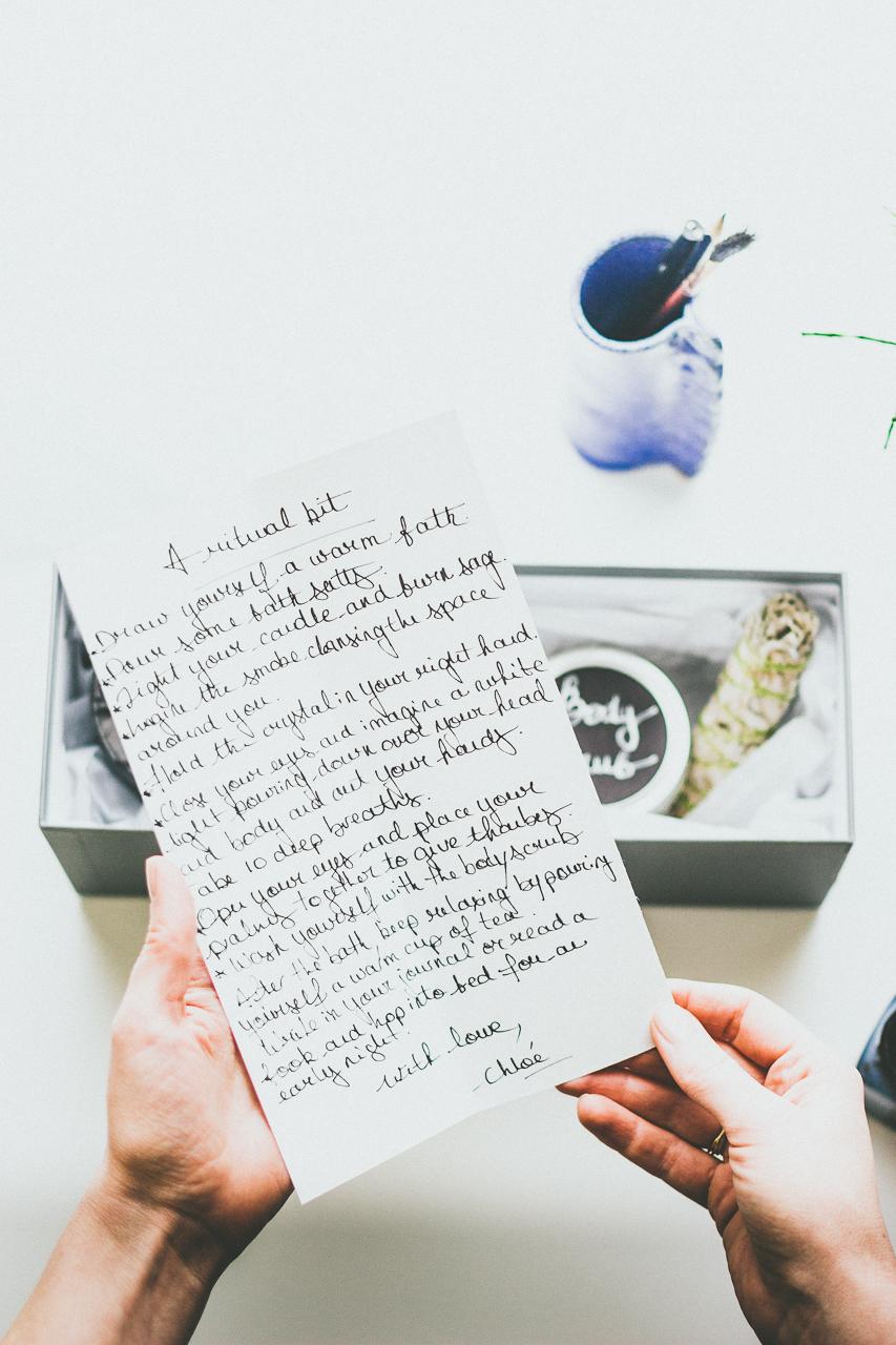 Bath Ritual Kit DIY by Conscious by Chloé