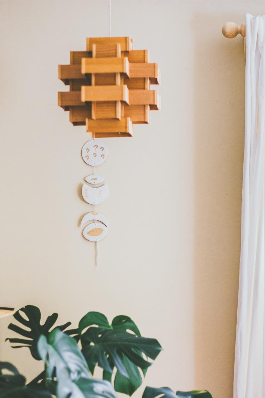 Oregon Solar Eclipse Clay Wall Hanging DIY