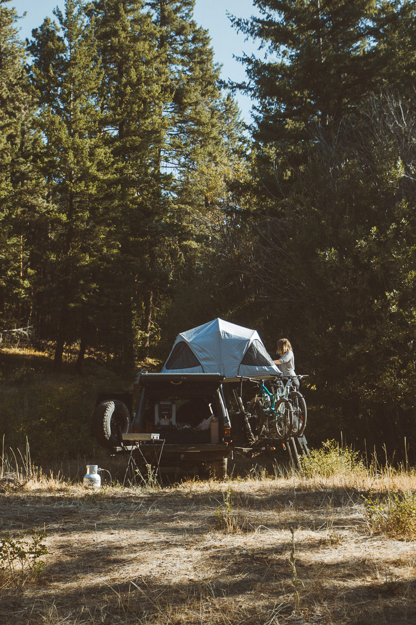 Car Camping with Charlie the Land Cruiser Overlander for Conscious by Chloé