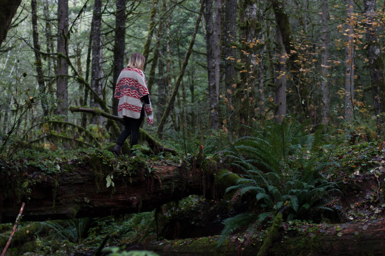 Oregon forest hike by Conscious by Chloé
