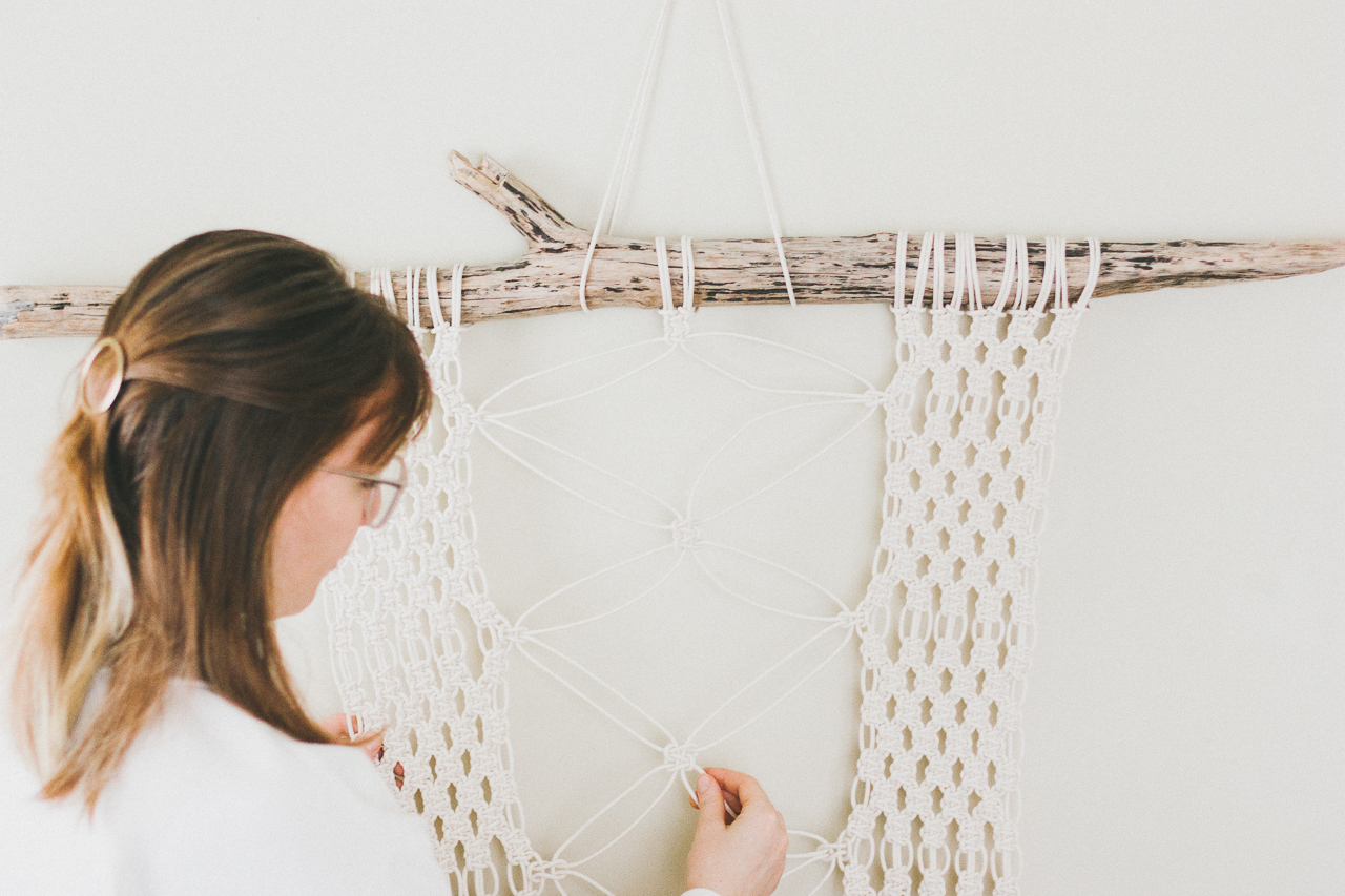 Macrame Plant Holder by Conscious by Chloé
