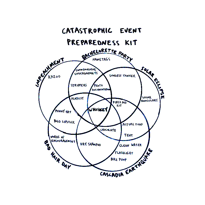 Anne Parmeter Preparedness Chart for Conscious by Chloé
