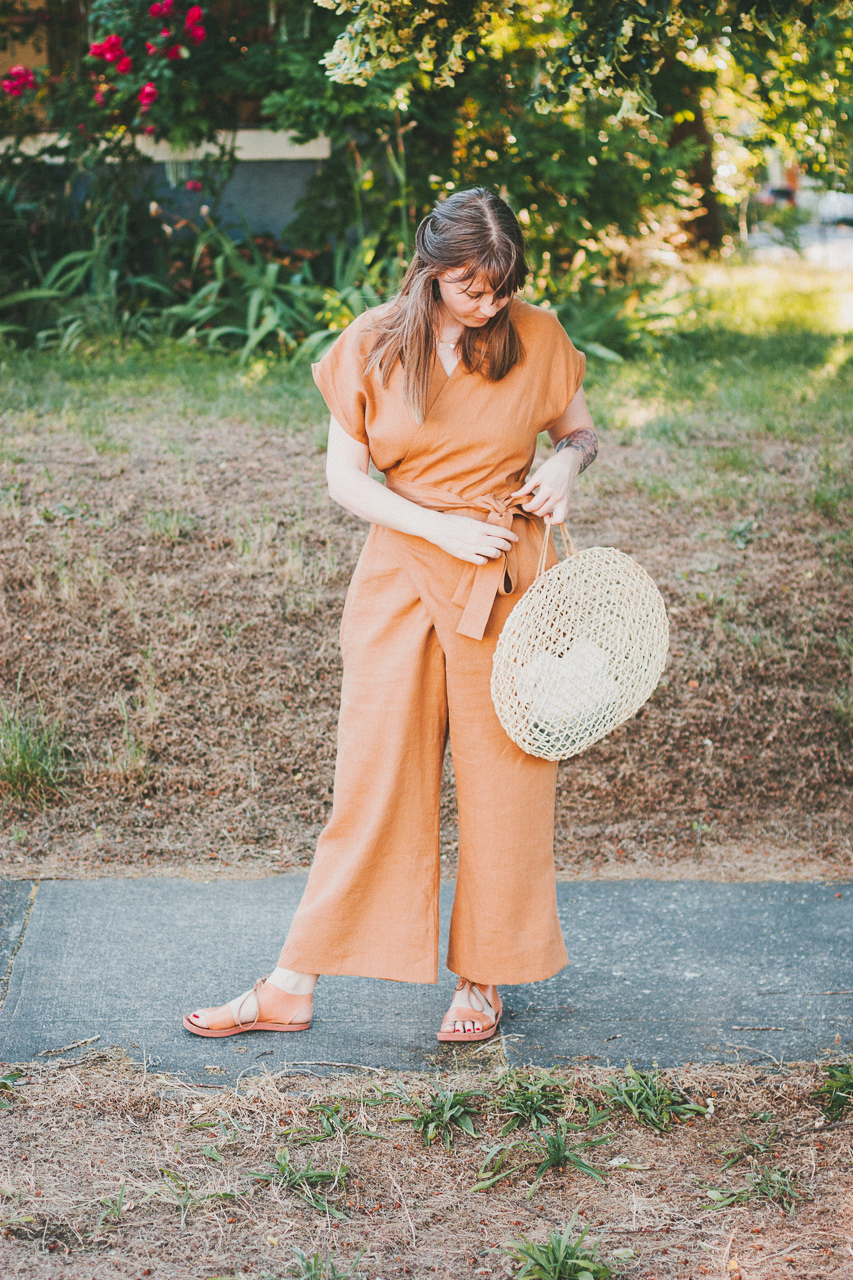 A 100% Portland-made Outfit with Lauren Winter and Rachel Sees Snail Shoes by Conscious by Chloé